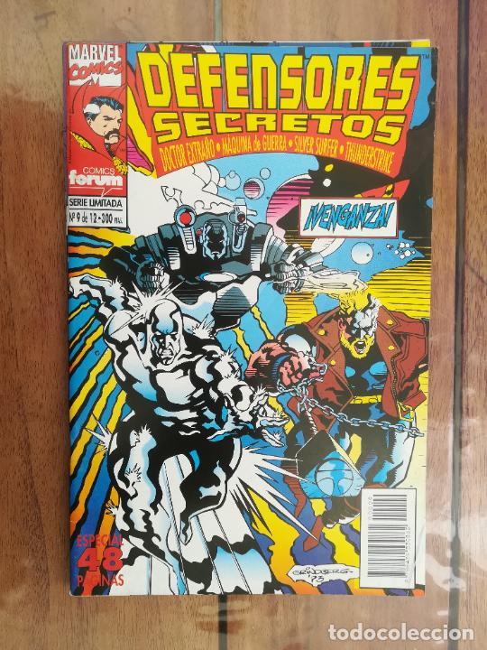Cómics: DEFENSORES SECRETOS. LOTE DEL 1 AL 10. FORUM - Foto 10 - 243928005