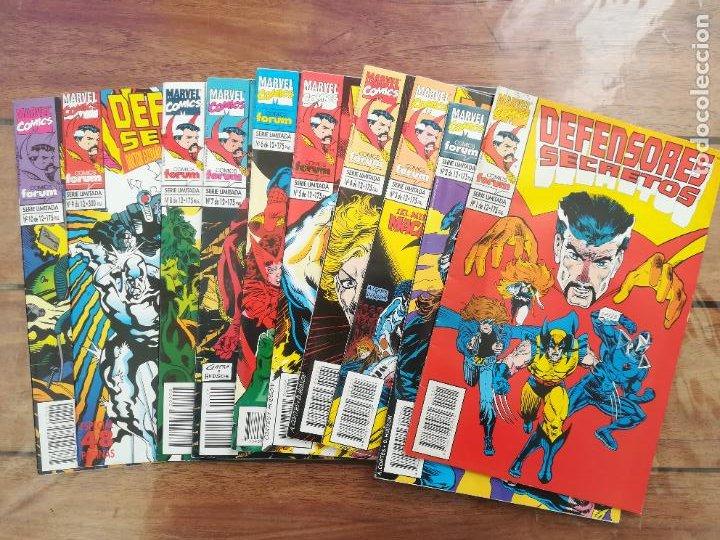 DEFENSORES SECRETOS. LOTE DEL 1 AL 10. FORUM (Tebeos y Comics - Forum - Otros Forum)