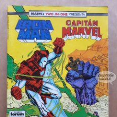 Cómics: MARVEL TWO-IN-ONE - IRON MAN CAPITAN MARVEL Nº 50 - FORUM. Lote 243981675