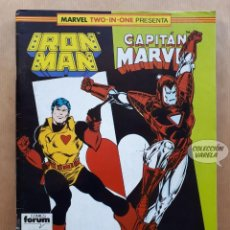 Cómics: MARVEL TWO-IN-ONE - IRON MAN CAPITAN MARVEL Nº 52 - FORUM. Lote 243981860