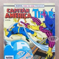 Cómics: MARVEL TWO-IN-ONE - CAPITÁN AMÉRICA THOR - Nº 52 - FORUM. Lote 243982210