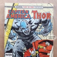 Cómics: MARVEL TWO-IN-ONE - CAPITÁN AMÉRICA THOR - Nº 58 - FORUM. Lote 243982660