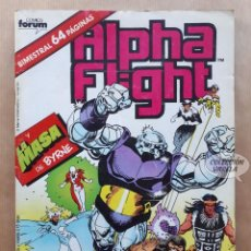 Cómics: ALPHA FLIGHT VOL 1 - Nº 35 - LA MASA DE BYRNE - BIMESTRAL FORUM. Lote 243986945