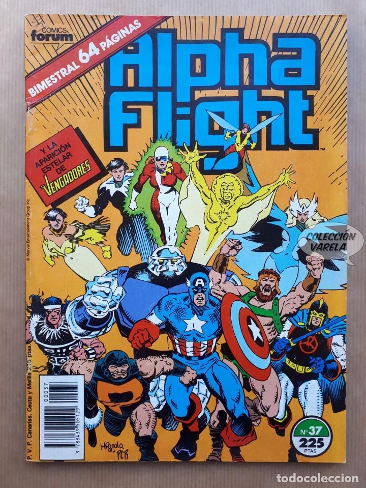 ALPHA FLIGHT VOL 1 - Nº 37 - LA MASA - BIMESTRAL FORUM - PORTAFOLIO (Tebeos y Comics - Forum - Alpha Flight)