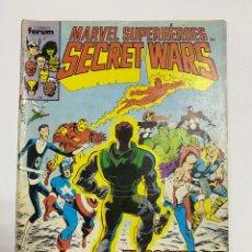 Cómics: MARVEL SUPERHÉROES. SECRET WARS. Nº 11 - EL ROSTRO DE MUERTE. COMICS FORUM. Lote 244005340