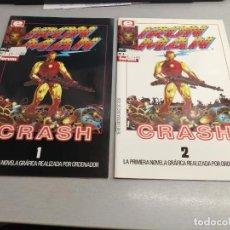 Cómics: IRON MAN CRASH / COMPLETA 2 NÚMEROS / EPIC COMICS - FORUM. Lote 244005640