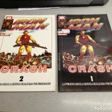 Cómics: IRON MAN CRASH / COMPLETA 2 NÚMEROS / EPIC COMICS - FORUM. Lote 244005705