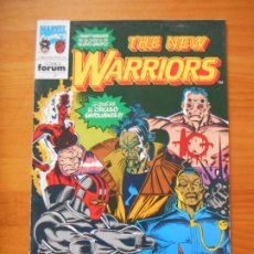 Cómics: THE NEW WARRIORS Nº 21 - MARVEL - FORUM (6N). Lote 244009240