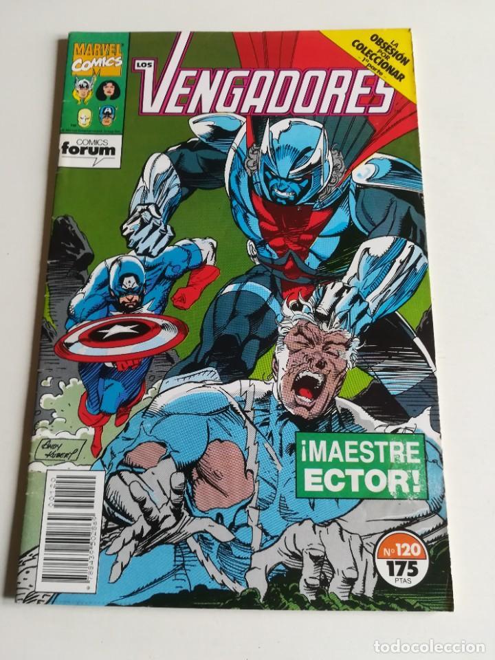 LOS VENGADORES VOL.1 Nº 120 FORUM LA OBSESIÓN POR COLECCIONAR BUEN ESTADO (Tebeos y Comics - Forum - Vengadores)