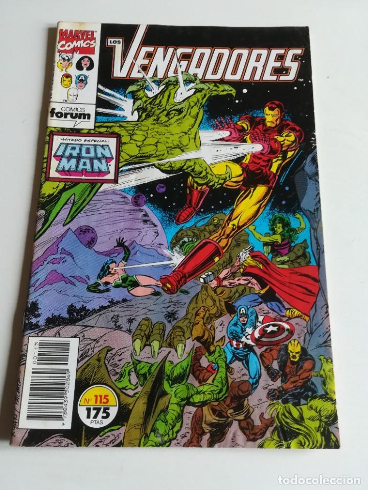 LOS VENGADORES VOL.1 Nº 115 FORUM BUEN ESTADO (Tebeos y Comics - Forum - Vengadores)