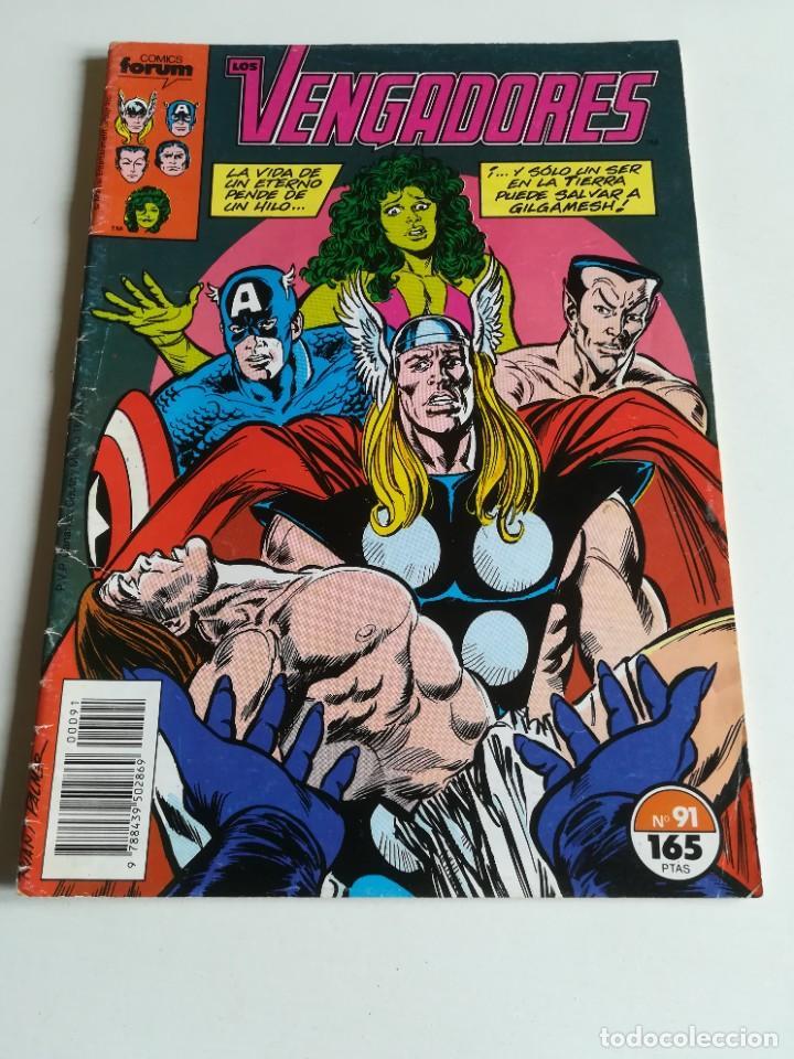 LOS VENGADORES VOL.1 Nº 91 FORUM (Tebeos y Comics - Forum - Vengadores)