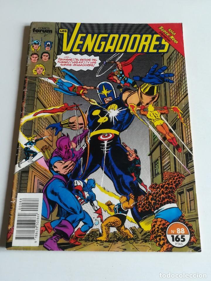 LOS VENGADORES VOL.1 Nº 88 FORUM SAGA SÚPER NOVA (Tebeos y Comics - Forum - Vengadores)