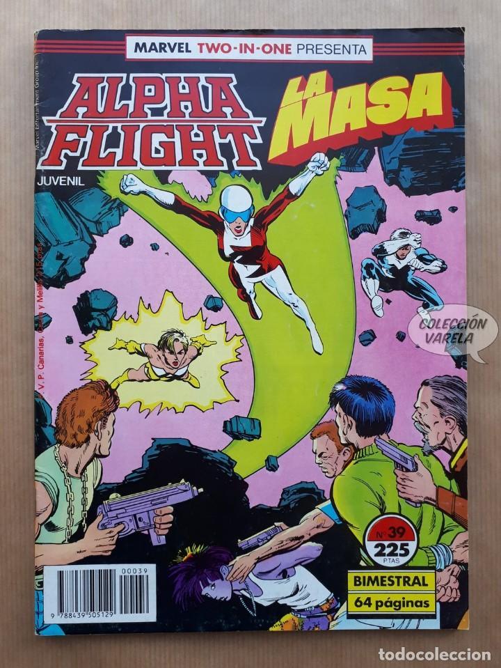 MARVEL TWO-IN-ONE ALPHA FLIGHT LA MASA VOL 1 - Nº 39 - FORUM - INCLUYE PÓSTER (Tebeos y Comics - Forum - Alpha Flight)