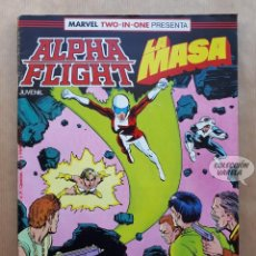 Cómics: MARVEL TWO-IN-ONE ALPHA FLIGHT LA MASA VOL 1 - Nº 39 - FORUM - INCLUYE PÓSTER. Lote 244190495