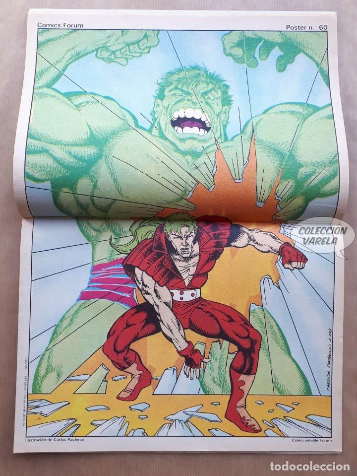 Cómics: Marvel Two-in-one Alpha Flight La Masa vol 1 - nº 39 - Forum - Incluye póster - Foto 2 - 244190495