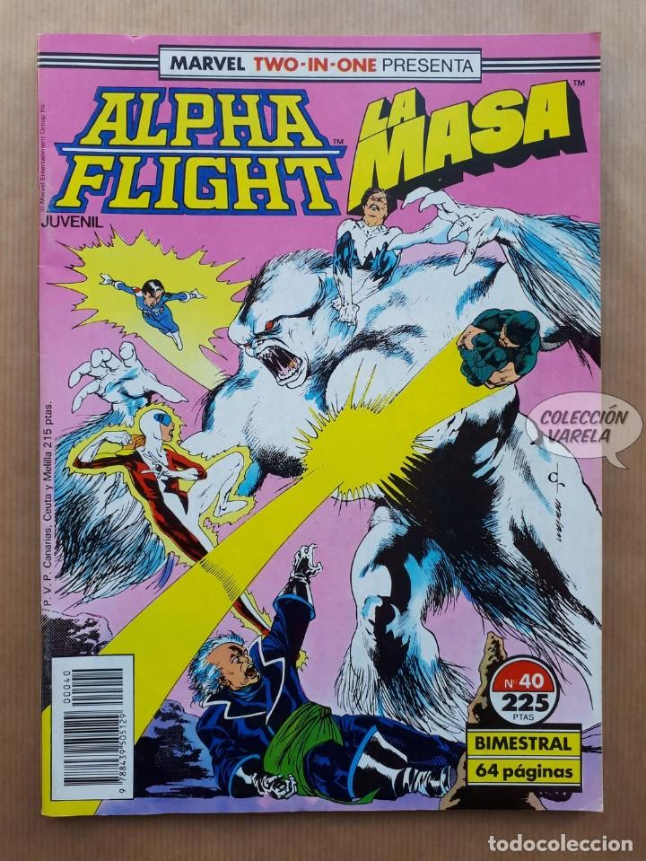 MARVEL TWO-IN-ONE ALPHA FLIGHT LA MASA VOL 1 - Nº 40 - FORUM - INCLUYE PÓSTER (Tebeos y Comics - Forum - Alpha Flight)