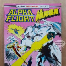 Cómics: MARVEL TWO-IN-ONE ALPHA FLIGHT LA MASA VOL 1 - Nº 40 - FORUM - INCLUYE PÓSTER. Lote 244190775