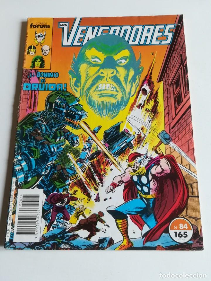 LOS VENGADORES VOL.1 Nº 84 FORUM (Tebeos y Comics - Forum - Vengadores)