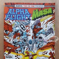 Cómics: MARVEL TWO-IN-ONE ALPHA FLIGHT LA MASA VOL 1 - Nº 49 - FORUM - INCLUYE PÓSTER. Lote 244190995