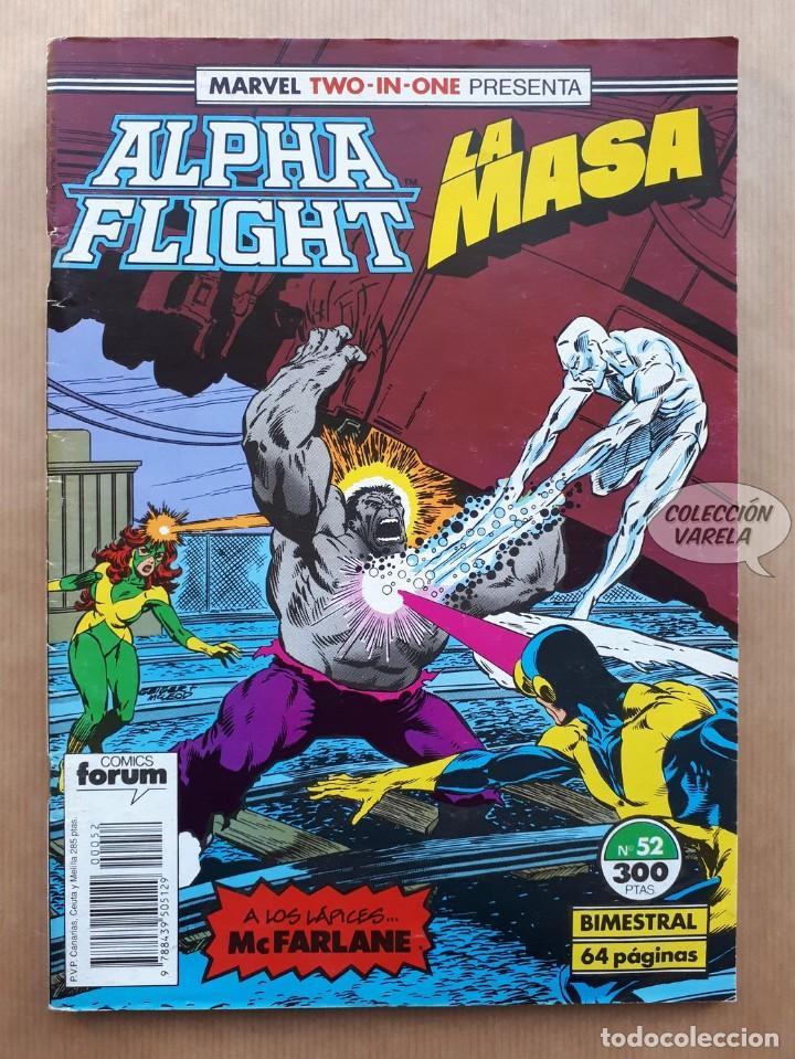 MARVEL TWO-IN-ONE ALPHA FLIGHT LA MASA VOL 1 - Nº 52 - FORUM (Tebeos y Comics - Forum - Alpha Flight)