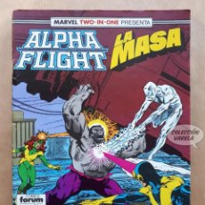 Cómics: MARVEL TWO-IN-ONE ALPHA FLIGHT LA MASA VOL 1 - Nº 52 - FORUM. Lote 244191320