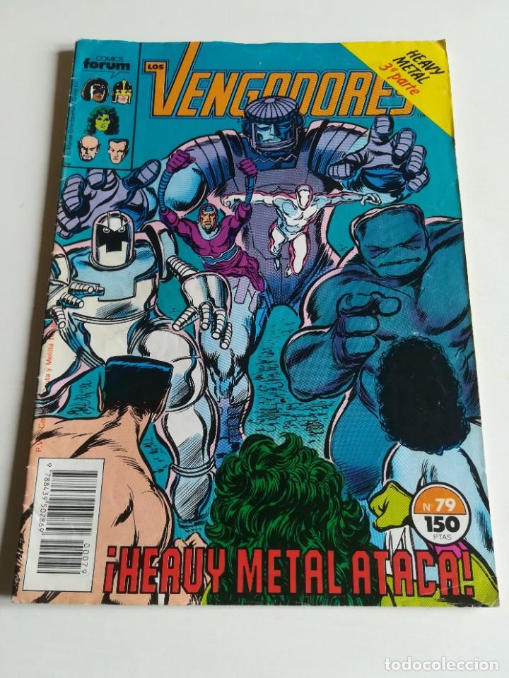 LOS VENGADORES VOL.1 Nº 79 FORUM HEAVY METAL (Tebeos y Comics - Forum - Vengadores)