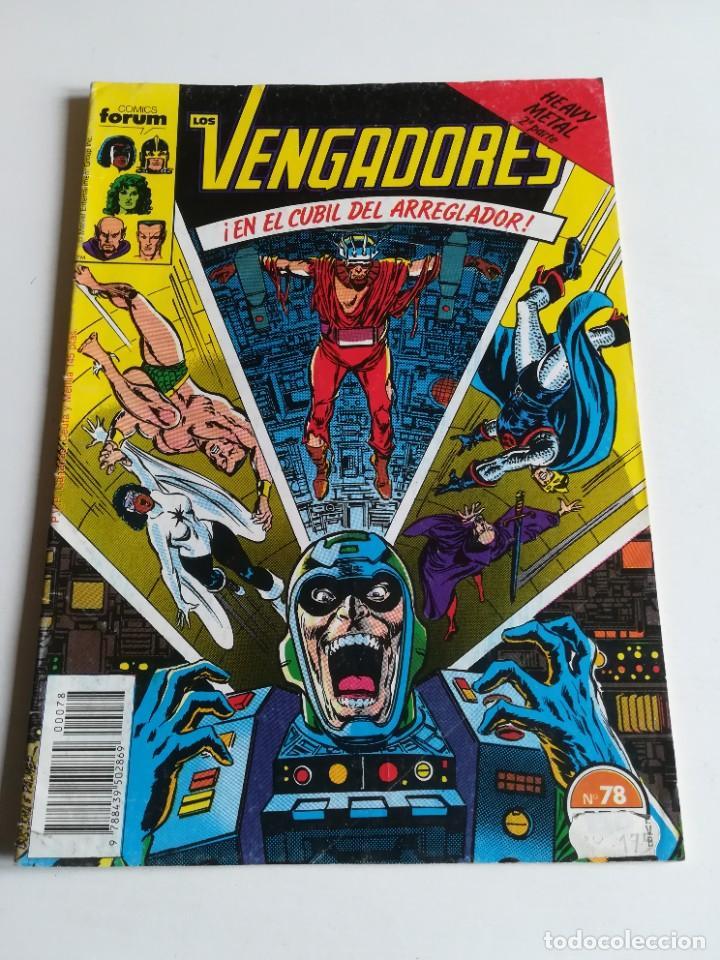 LOS VENGADORES VOL.1 Nº 78 FORUM HEAVY METAL (Tebeos y Comics - Forum - Vengadores)