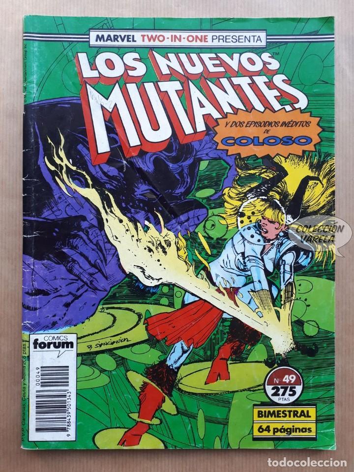 MARVEL TWO-IN-ONE LOS NUEVOS MUTANTES LOBEZNO - Nº 49 - FORUM (Tebeos y Comics - Forum - Nuevos Mutantes)
