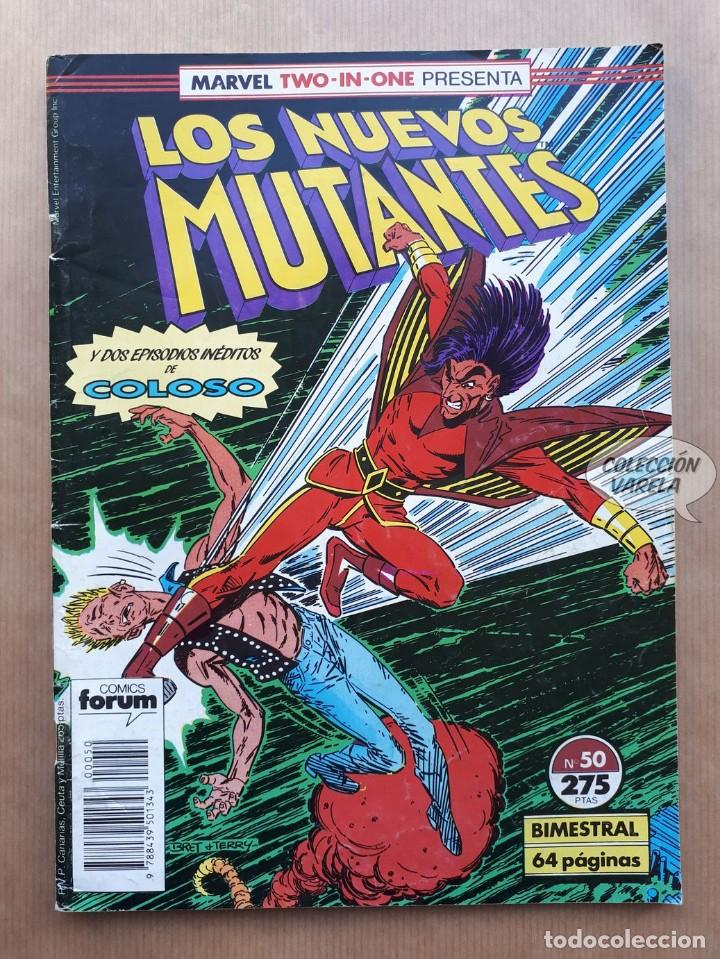 MARVEL TWO-IN-ONE LOS NUEVOS MUTANTES LOBEZNO - Nº 50 - FORUM (Tebeos y Comics - Forum - Nuevos Mutantes)