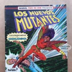 Cómics: MARVEL TWO-IN-ONE LOS NUEVOS MUTANTES LOBEZNO - Nº 50 - FORUM. Lote 244194370