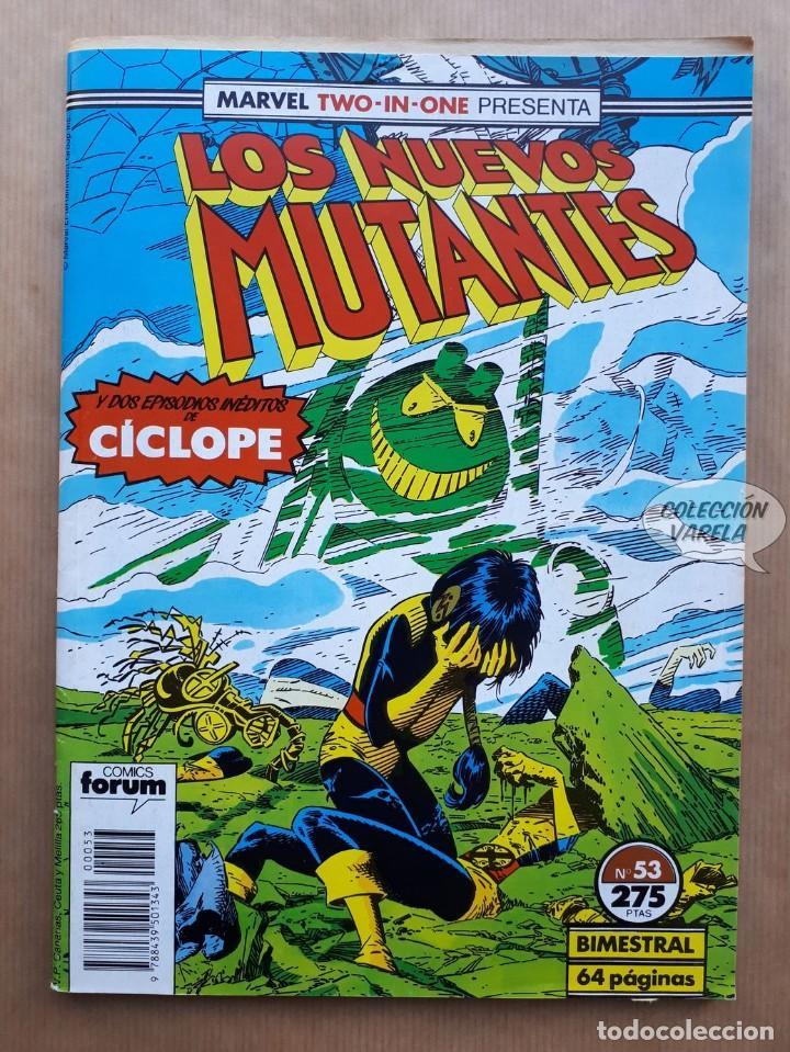 MARVEL TWO-IN-ONE LOS NUEVOS MUTANTES LOBEZNO - Nº 53 - FORUM (Tebeos y Comics - Forum - Nuevos Mutantes)