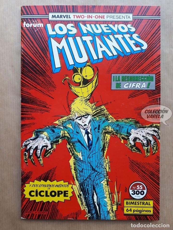 MARVEL TWO-IN-ONE LOS NUEVOS MUTANTES LOBEZNO - Nº 55 - FORUM (Tebeos y Comics - Forum - Nuevos Mutantes)