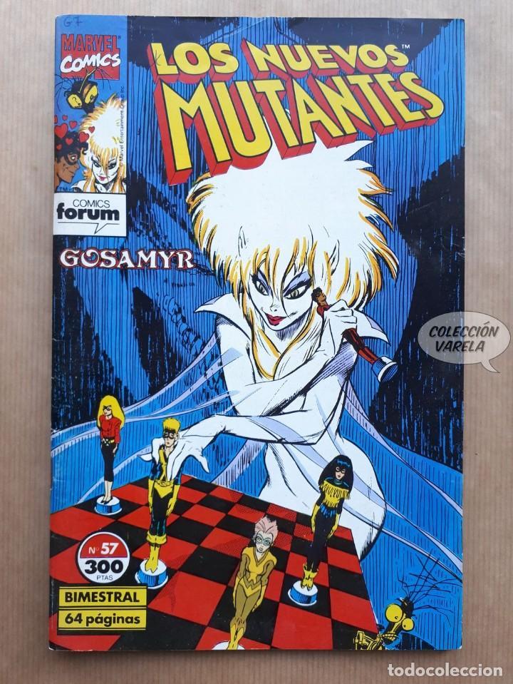 LOS NUEVOS MUTANTES - Nº 57 - FORUM (Tebeos y Comics - Forum - Nuevos Mutantes)