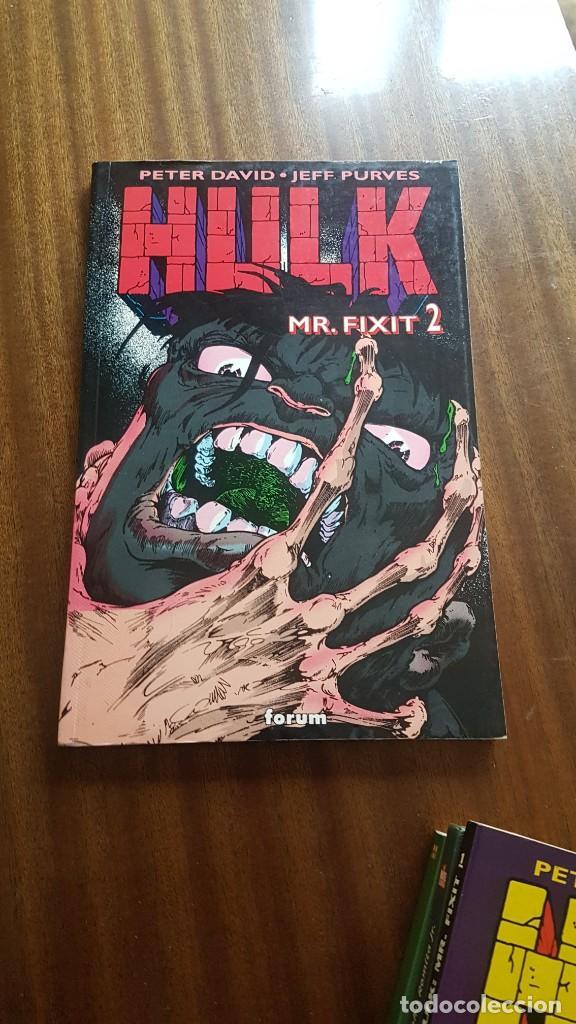 Cómics: HULK . MR. FIXIT 1 Y 2 - Foto 2 - 244021750