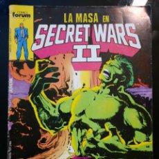 Cómics: COMICS SECRET WARS II. NUMEROS 23 Y 40. Lote 244414470
