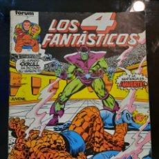 Cómics: COMIC LOS 4 FANTASTICOS. NUMEROS 3 Y 89. Lote 244416860