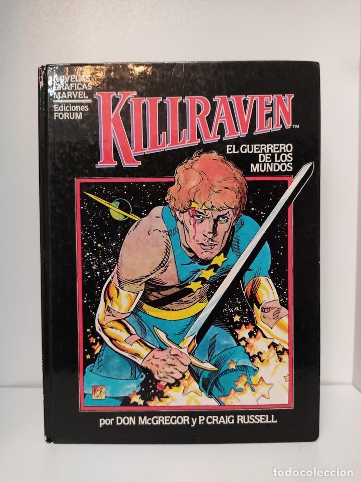 KILLRAVEN - EL GUERRERO DE LOS MUNDOS. DON MCGREGOR CRAIG RUSSEL. FORUM (Tebeos y Comics - Forum - Prestiges y Tomos)
