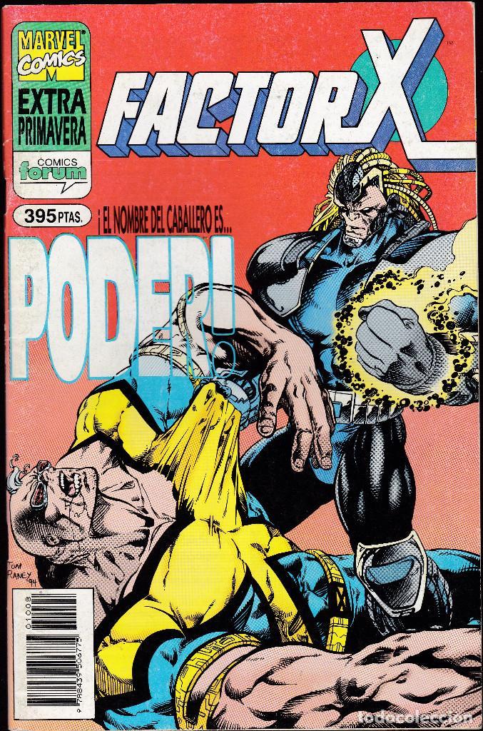 FACTOR-X EXTRA PRIMAVERA 1995 - ¡EL NOMBRE DEL CABALLERO ES... PODER! - FORUM - (Tebeos y Comics - Forum - Factor X)