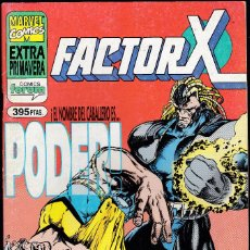 Cómics: FACTOR-X EXTRA PRIMAVERA 1995 - ¡EL NOMBRE DEL CABALLERO ES... PODER! - FORUM -. Lote 244529160