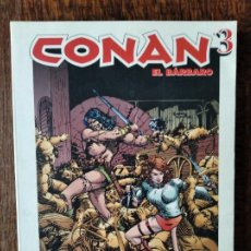 Cómics: CONAN EL BARBARO, TOMO GRANDES HEROES DEL COMIC 25, 194 PAGINAS.- CON.... Lote 244582230