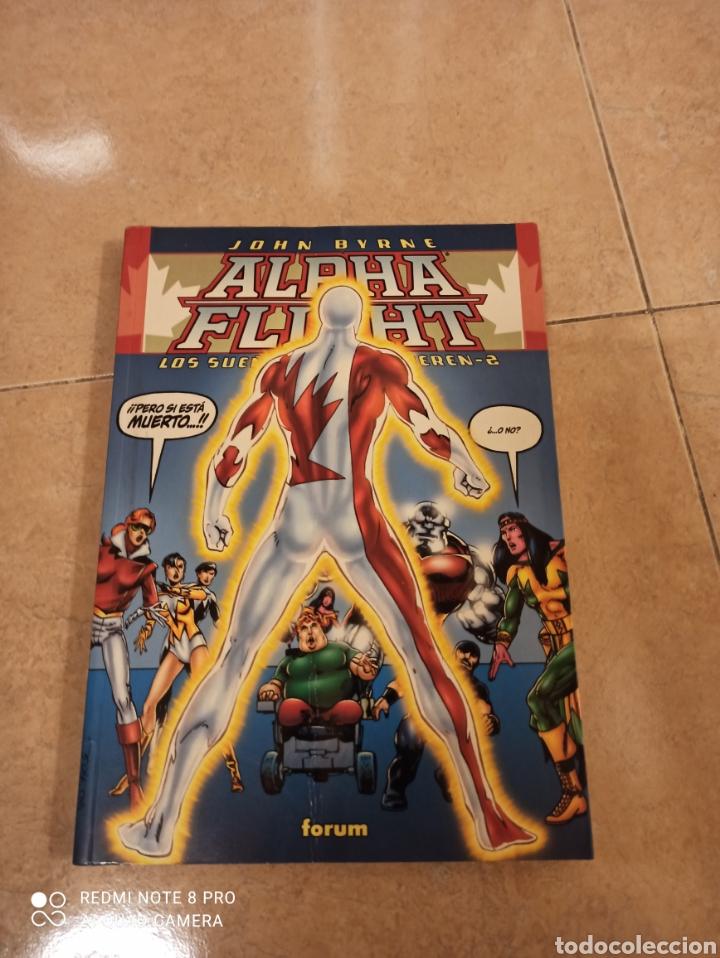ALPHA FLIGHT LOS SUEÑOS NUNCA MUEREN 2 FORUM JOHN BYRNE (Tebeos y Comics - Forum - Alpha Flight)