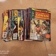 Cómics: CONAN EL BÁRBARO 98 NUMEROS COMPLETA FORUM + ESPECIAL WHAT IF. Lote 244599060