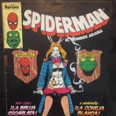 Cómics: SPIDERMAN EL HOMBRE ARAÑA VOL.1 N.86 HASTA QUE LA MUERTE NOS SEPARE ( 1983/1994 ). Lote 244641330