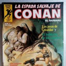 Cómics: LA ESPADA SALVAJE DE CONAN EL BARBARO Nº 9 - SERIE ORO - 1ª EDICIÓN - FORUM 1982. Lote 244737775