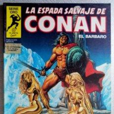 Cómics: LA ESPADA SALVAJE DE CONAN EL BARBARO Nº 45 - SERIE ORO - 1ª EDICIÓN - FORUM 1982. Lote 244738525