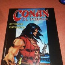 Cómics: CONAN EL PIRATA TOMO 1 LA CALAVERA DE LOS MARES. ROY THOMAS/JOHN BUSCEMA. Lote 244739595