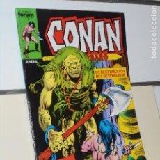 Cómics: CONAN EL BARBARO VOL. 1 Nº 136 MARVEL - FORUM. Lote 244748215
