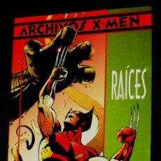 Cómics: LOBEZNO - RAÍCES (ARCHIVOS X-MEN ) DE JOHN BYRNE ( BUEN ESTADO). Lote 244753455