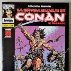 Cómics: LA ESPADA SALVAJE DE CONAN EL BARBARO Nº 122 - 2ª EDICIÓN - FORUM 2004 ''EXCELENTE ESTADO''. Lote 244754185