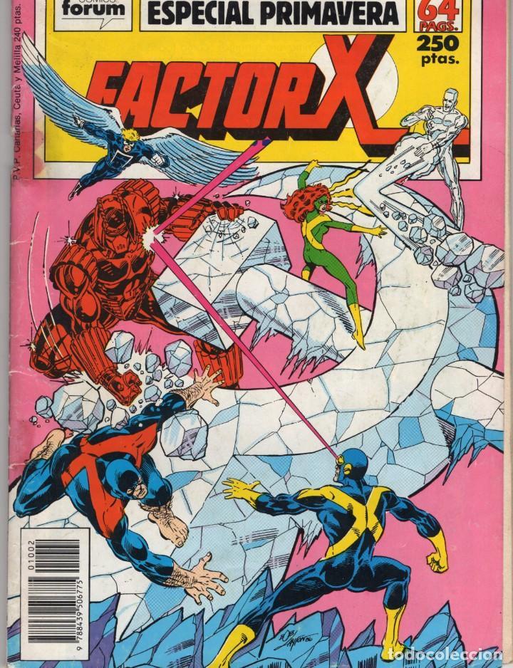FACTOR X VOL. 1 ESPECIAL PRIMAVERA 1989 - FORUM - OFM15 (Tebeos y Comics - Forum - Factor X)